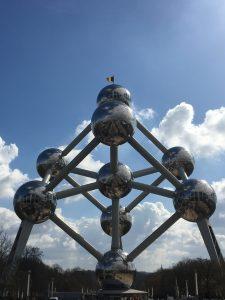 Bélgica Atomium