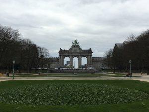 Bélgica Bruselas Parque de Cincuentenario