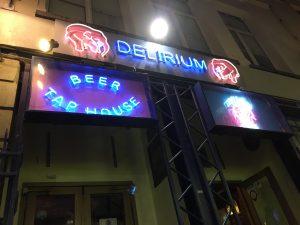Bélgica Bruselas Bar Delirium tremen