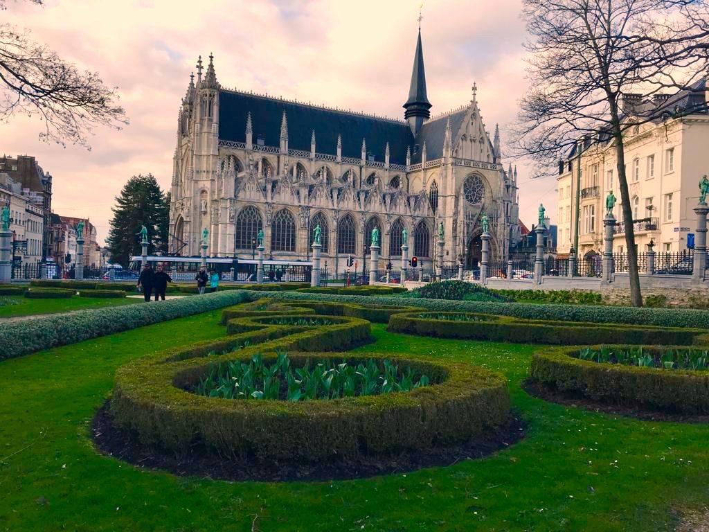 Bélgica Catedral de Notre Dame du Sablon
