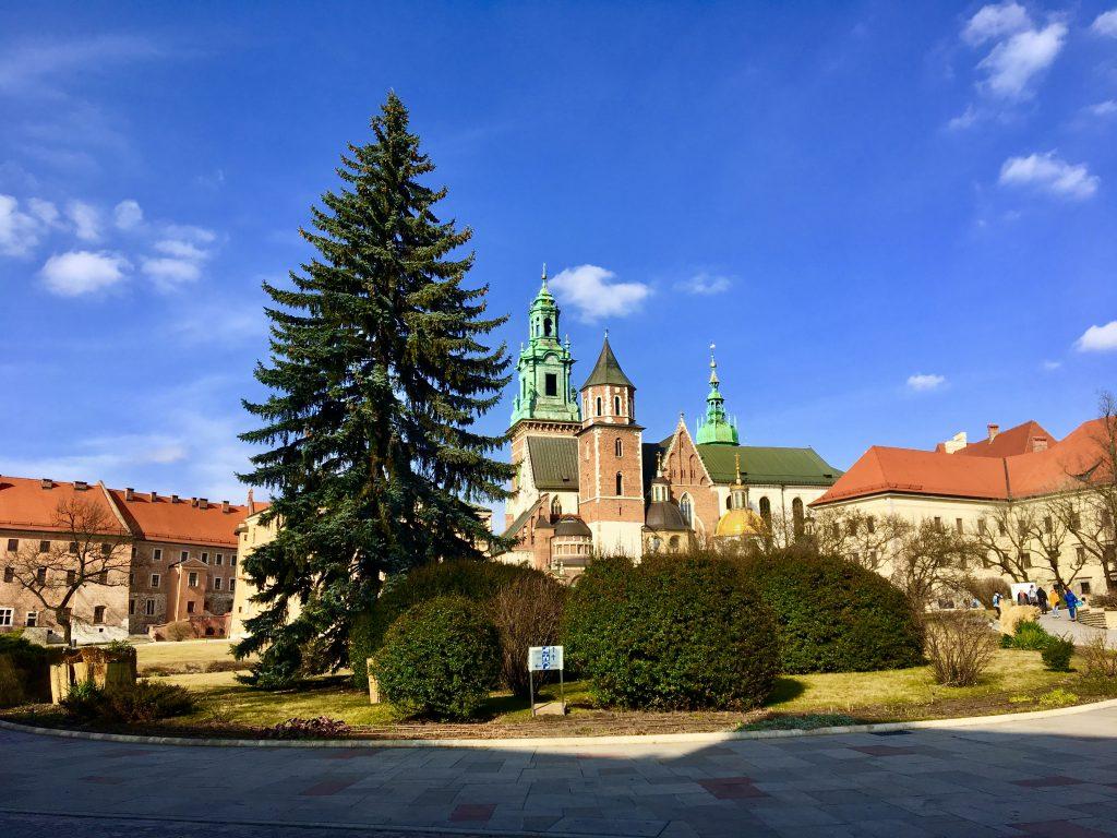 Colina de Wavel Cracovia