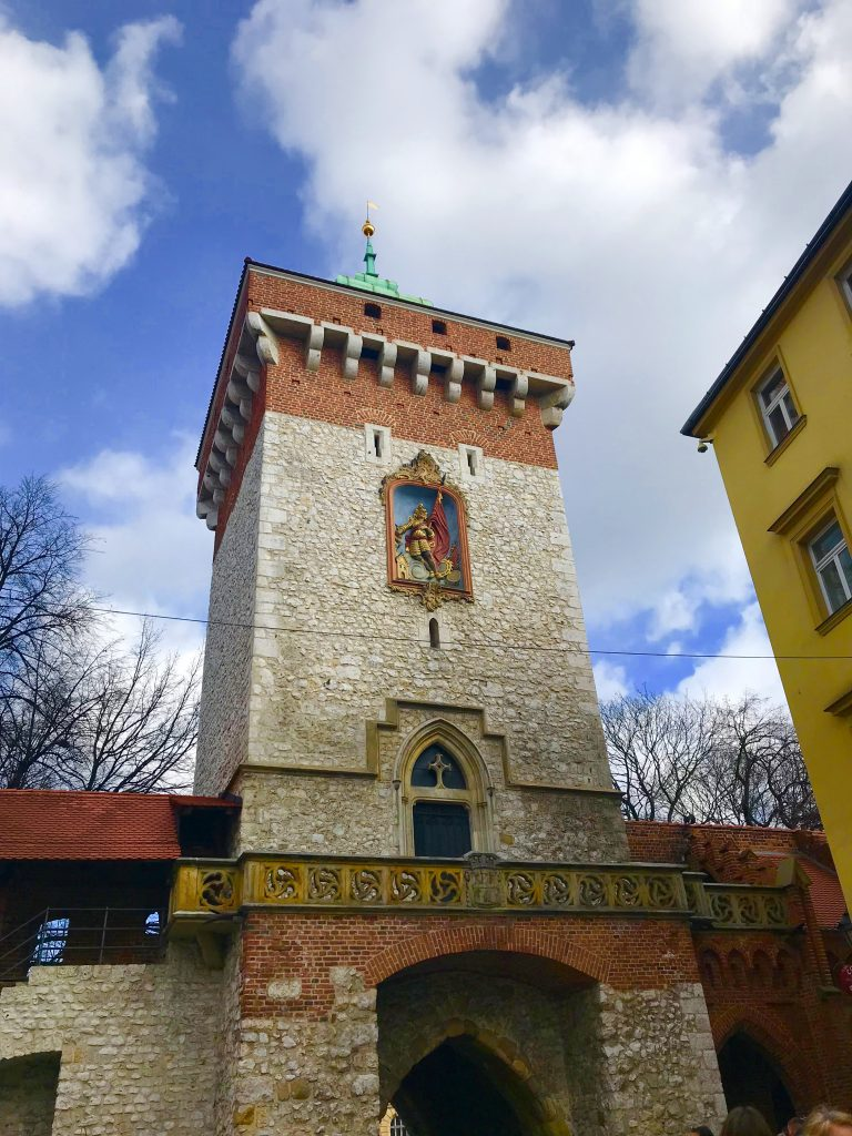 La puerta de Florian Cracovia