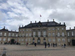 Palacio de Amalienborg Copenhague