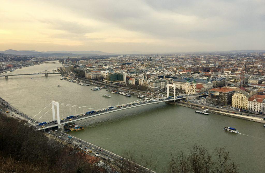Collina Gellert Qué ver en Budapest