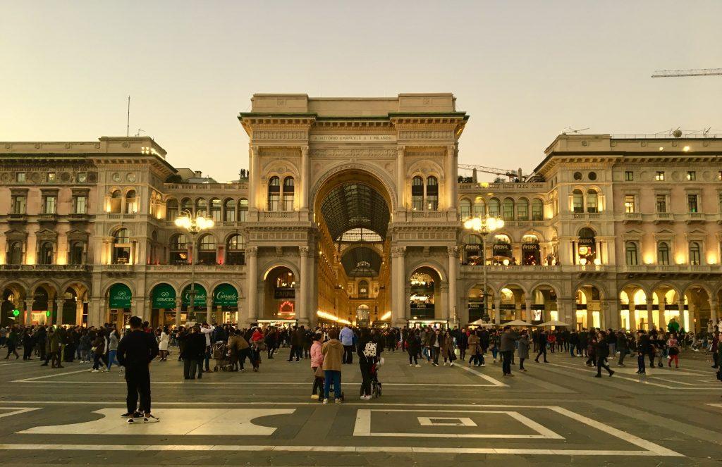 Qué ver en Milán. Galleria Vittorio Emanuele II