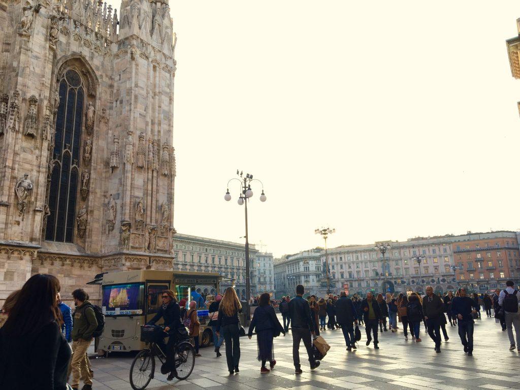 Piazza del duomo italia