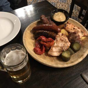 Mici comida típica Rumana