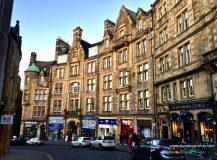 Cómo moverse por Edimburgo con el transporte público.