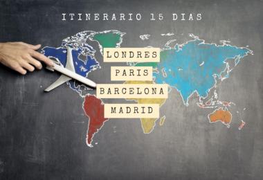 Itinerario por Europa en 15 días