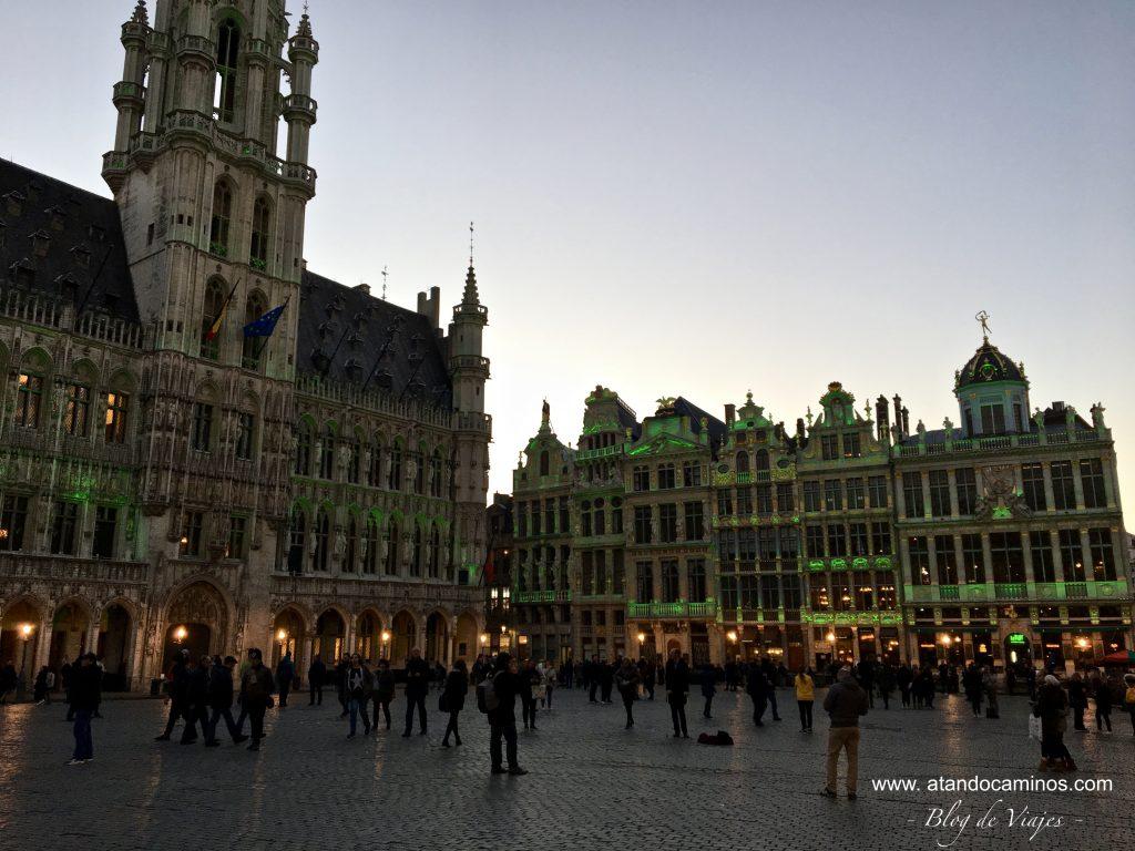Itinerario por Europa en 15 días Bruselas