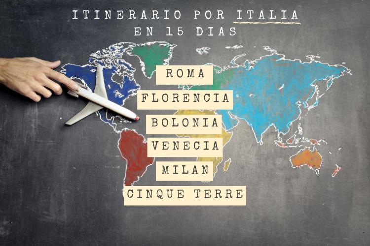 Itinerario por Italia en 15 días. Una ruta por el norte italiano.